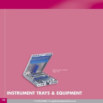 INSTRUMENT TRAYS & EQUIPMENT - Anglian Dental