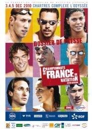 DP France et Dubaï 2010 - Fédération Française de Natation