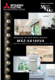 MXZ-5A100VA - AIRCO line