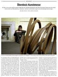 Überdosis Kunstmesse - Marc Spiegler
