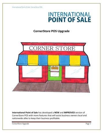 Installation Instruction for CornerStore Upgrade - Corner Store Point ...