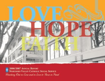 love hope faith faith love hope faith faith - Northern Valley Catholic ...