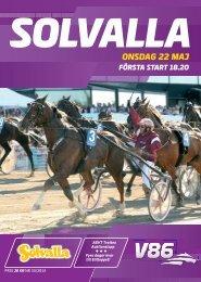 ONSDAG 22 MAJ - Solvalla