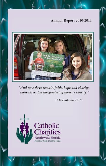 2010-2011 Annual Report - Catholic Charities of Northwest Florida