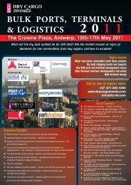 Bulk Ports, Terminals & Logistics 2011 - Dry Cargo International