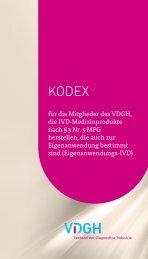 Kodex-fuer-die-Mitglieder-des-VDGH | pdf
