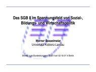 Wirtschaftspolitik - Bundeskongress-sgb2.de
