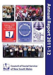 Annual Report 2011-12 - NCOSS