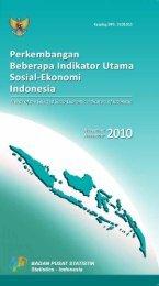 Edisi November 2010 - Badan Pusat Statistik