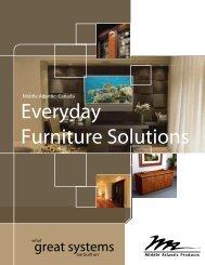 2012-13 everyday furniture brochure - Middle Atlantic