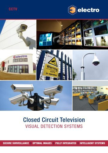 CCTV Brochure - Electro Automation Group Limited