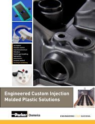 Engineered Custom Injection Molded Plastic Solutions - Parker