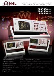 PPA5500_1500_500 Series Brochure - Newtons4th Ltd