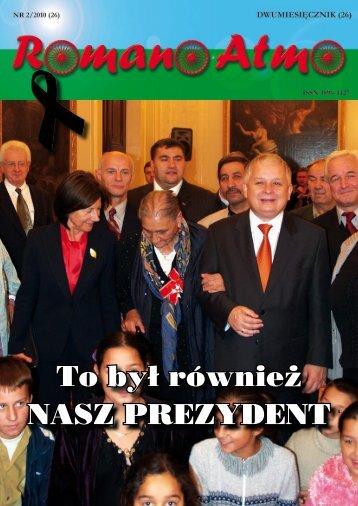 Spis treści numeru 2/2010 - Związek Romów Polskich w Szczecinku