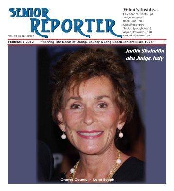 The Senior Reporter - Jeanne Sanner