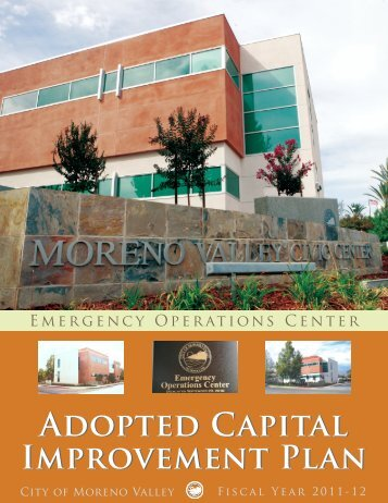 Adopted Capital Improvement Plan Adopted Capital Improvement Plan