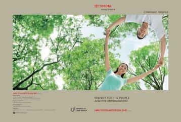 COMPANY PROFILE ® TOYOTA - Toyota Malaysia