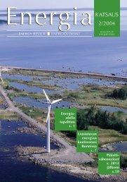 Energia - KTM -Julkaisurekisteri