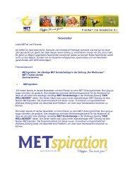 Newsletter 01_2008 per Mail - MET nach Franke