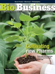 Cultivating new Pharms - Bio Business