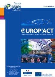télécharger le programme opérationnel - Europe en France, le ...