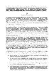 Gebührensatzung für die öffentliche ... - ATO-Online.de