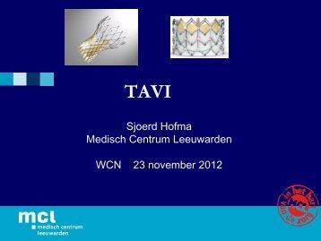 Direct Transaortale benadering voor TAVI Eerste casus en ... - 1