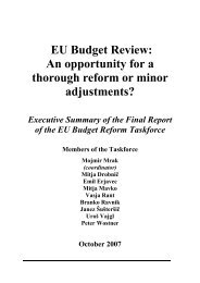 EU Budget Review: An opportunity for a thorough reform or minor ...