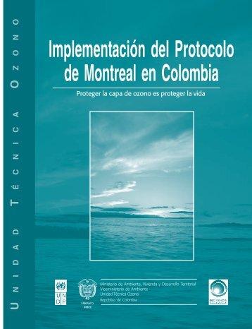 Implementación del Portocolo de Montreal en Colombia 1 pdf
