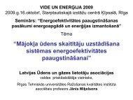 """""""Mājokļa ūdens skaitītāju uzstādīšana sistēmas energoefektivitātes ..."""