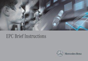 EPC Brief Instructions - Retailfactory Daimler ITR - Mercedes-Benz