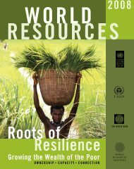 Growing the Wealth of the Poor - World Resources Institute