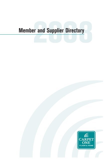 Member and Supplier Directory
