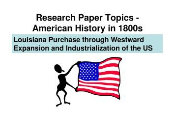 us history research paper topics 201 6/7 ap us history research paper general instructions the purpose of this project is to provide a thorough analysis of a particular.