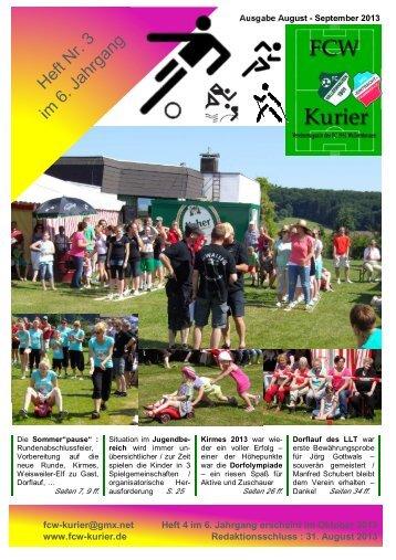 Download von Heft 2013 / 3 - fcw-kurier.de