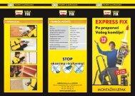 Liflet Moment Express fix u .pdf formatu - Lyctum
