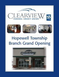 Hopewell Township Branch Grand Opening - Clearview Federal ...