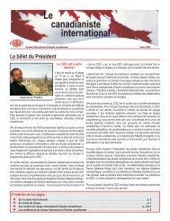 Décembre - Conseil international d'études canadiennes