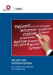 """Leitfaden """"Die Zeit der Intensivstation"""" - Deutsche Gesellschaft für ..."""