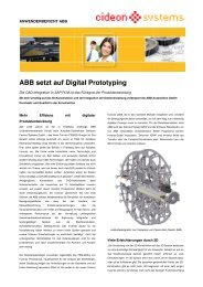 ABB setzt auf Digital Prototyping