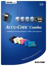Accu-Chek Combo broschyr