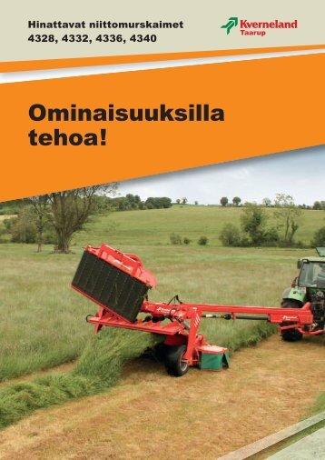 Lataa tästä suomenkielinen tuote-esite - Agritek Oy