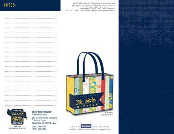 Spring 2011 Catalog - Little Yellow Bicycle