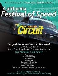 Largest Porsche Event in the West - Grand Prix Region - Porsche ...
