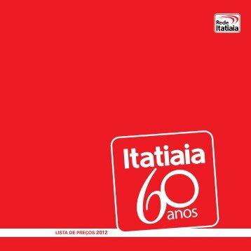 TABELA DE PREÇOS 2012 (virtual) - Rádio Itatiaia