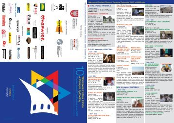 Program 2012 pdf - Warsaw Jewish Film Festival