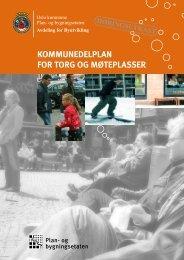 kommunedelplan for torg og møteplasser - Universell Utforming