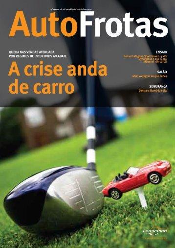 Frotas Auto A crise anda de carro - Autofrotas