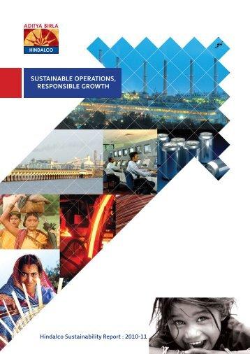 Hindalco Sustainability Report 2010-11