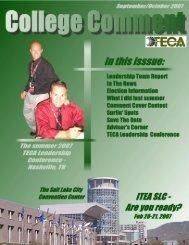 The TECA Leadership Team Report - International Technology and ...
